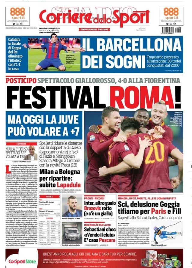 Corriere Dello Sport 8 Febbraio 2017