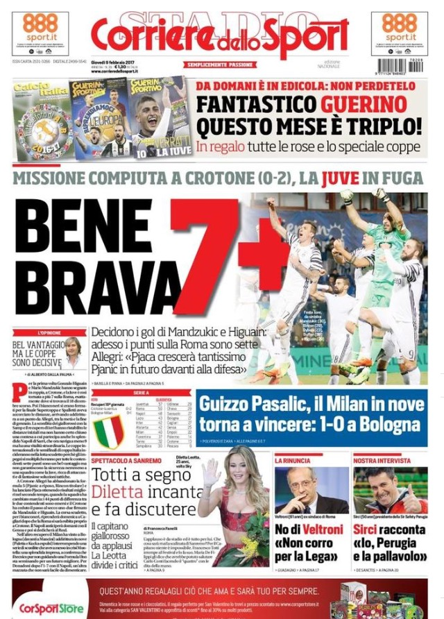 Corriere Dello Sport 9 Febbraio 2017