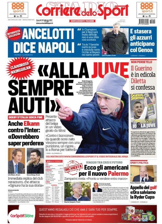 Corriere Dello Sport 10 Febbraio 2017