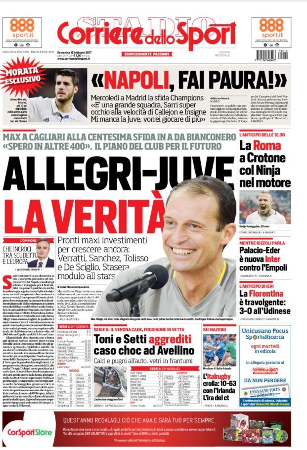 Corriere Dello Sport 12 Febbraio 2017