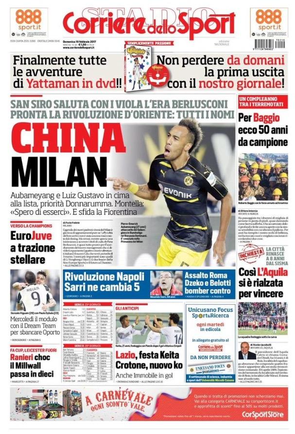 Corriere Dello Sport 19 Febbraio 2017