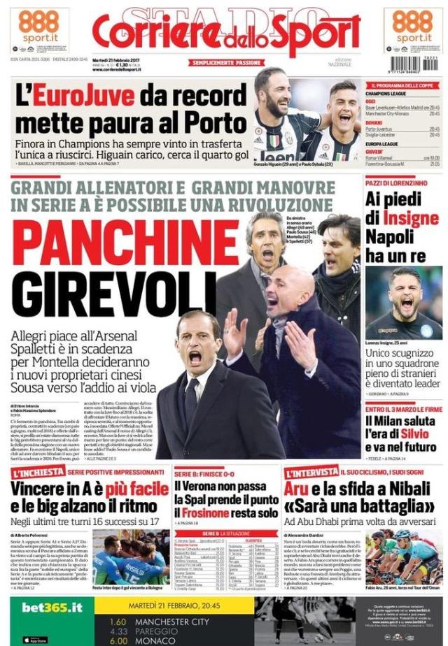 Corriere Dello Sport 21 Febbraio 2017