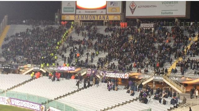 Tafferugli in curva: al Borussia M'Gladbach multa e dei daspo. Alla Fiorentina…