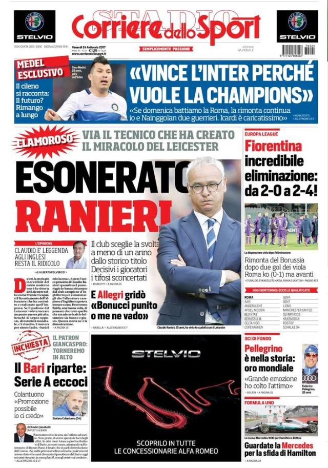 Corriere Dello Sport 24 Febbraio 2017