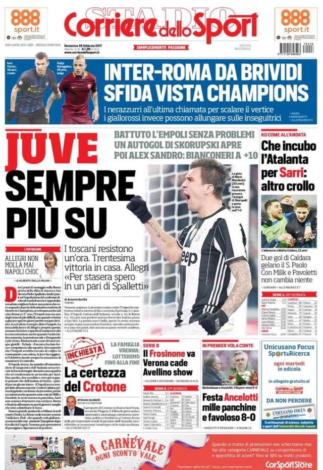 Corriere Dello Sport 26 Febbraio 2017