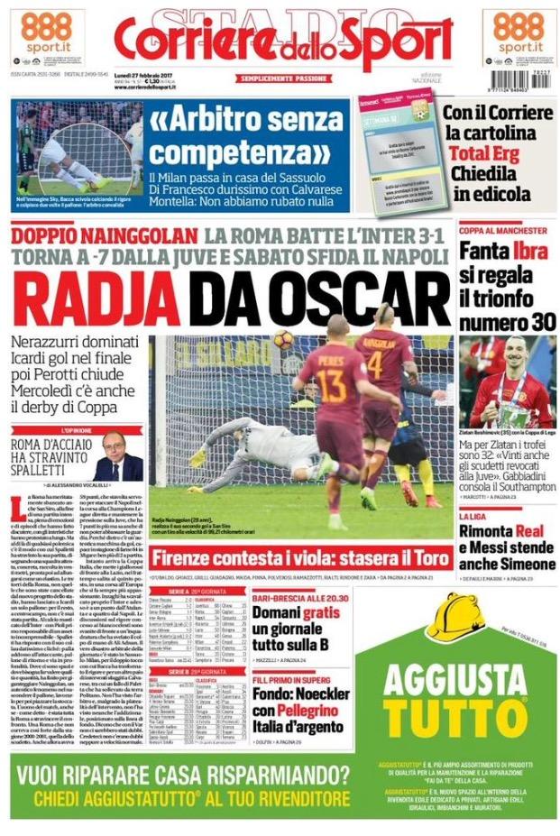 Corriere Dello Sport 27 Febbraio 2017