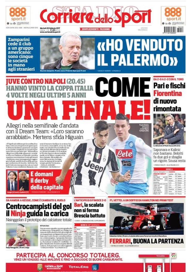 Corriere Dello Sport 28 Febbraio 2017