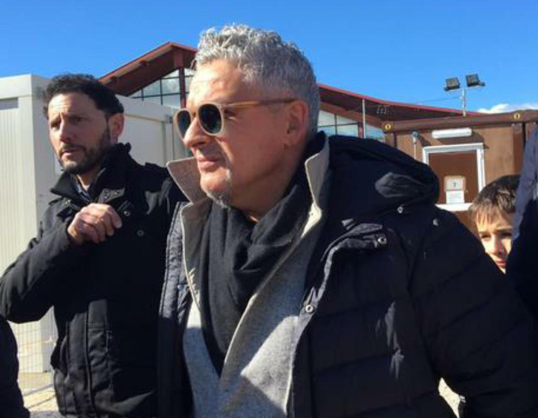 """Baggio festeggia i suoi 50 anni tra i terremotati ad Amatrice: """"Certe cose bisognerebbe vederle da vicino"""""""