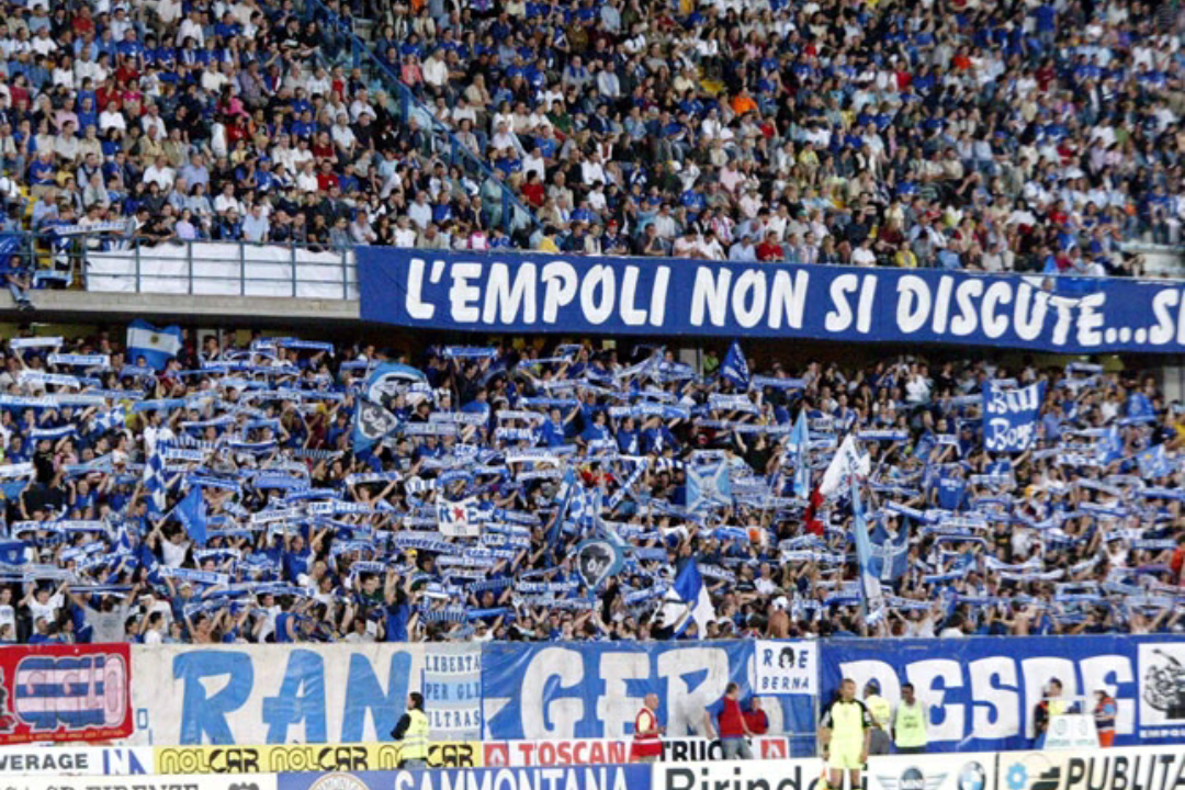 Sì gioca Empoli – Lazio ma i tifosi cantano contro la Fiorentina…