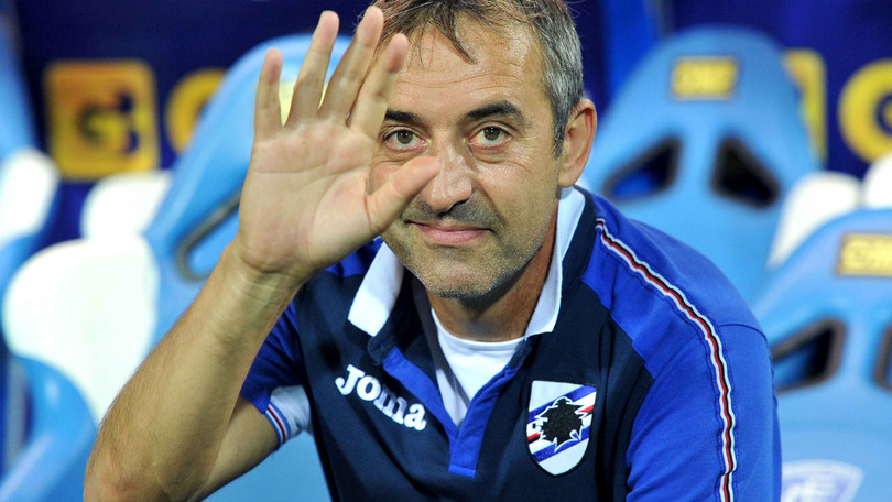 """Giampaolo si chiama fuori: """"Il mio futuro è alla Sampdoria"""""""