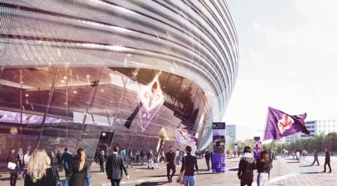 Ecco il nuovo stadio viola pronto nel 2021, nel 2019 inizio lavori, costerà ai Della Valle 420 milioni