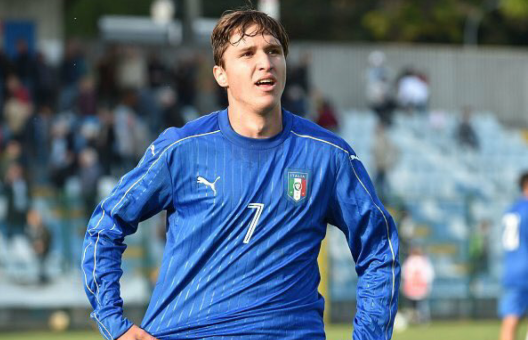 """Chiesa: """"Il futuro è l'allenamento di domani. Penso solo alla Fiorentina, vorrei andare all'europeo con Berna"""""""