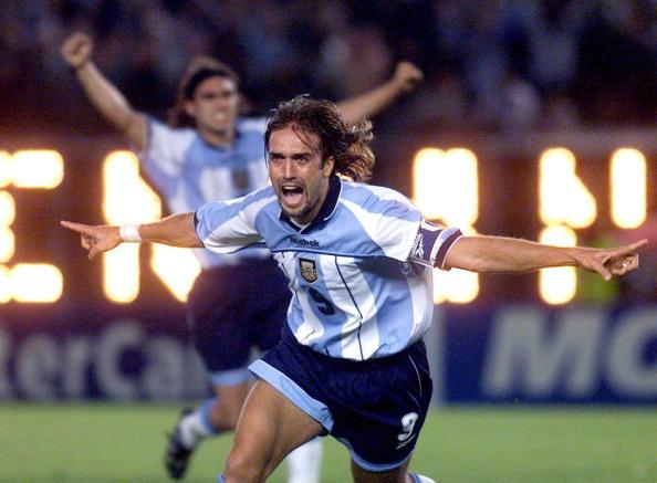 Argentina, Batistuta amaro: