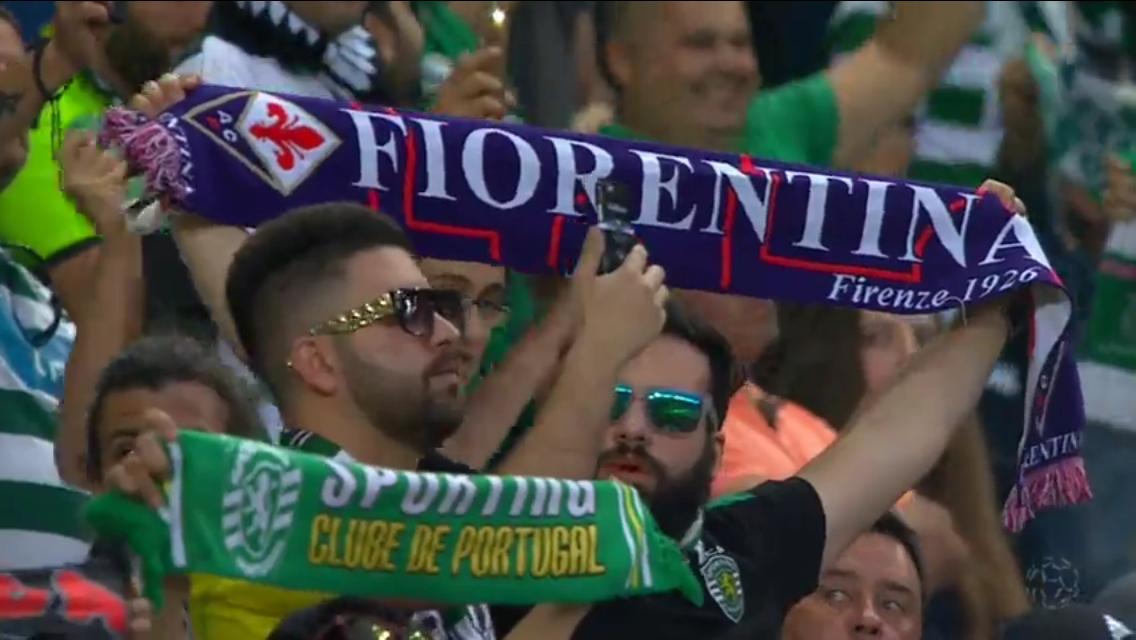 Video: il minuto di silenzio per Marco Ficini nel derby Benfica-Sporting