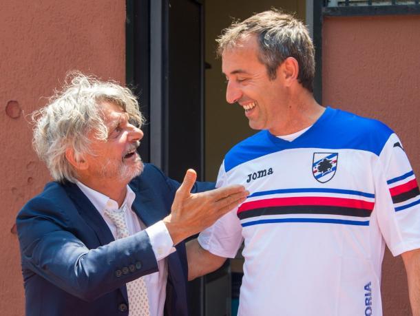 """Giampaolo rinnova: """"Non c'è mai stato nulla con la Fiorentina"""""""