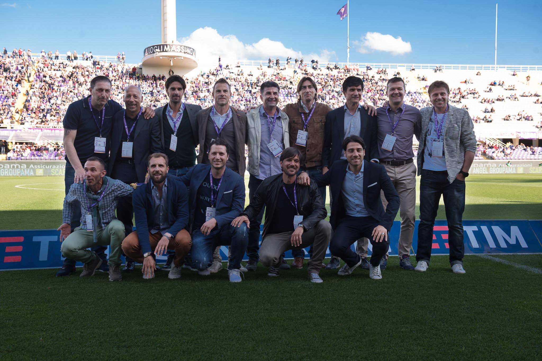L'omaggio di Firenze e della Fiorentina ai ragazzi della C2. Tutte le foto della festa al Franchi