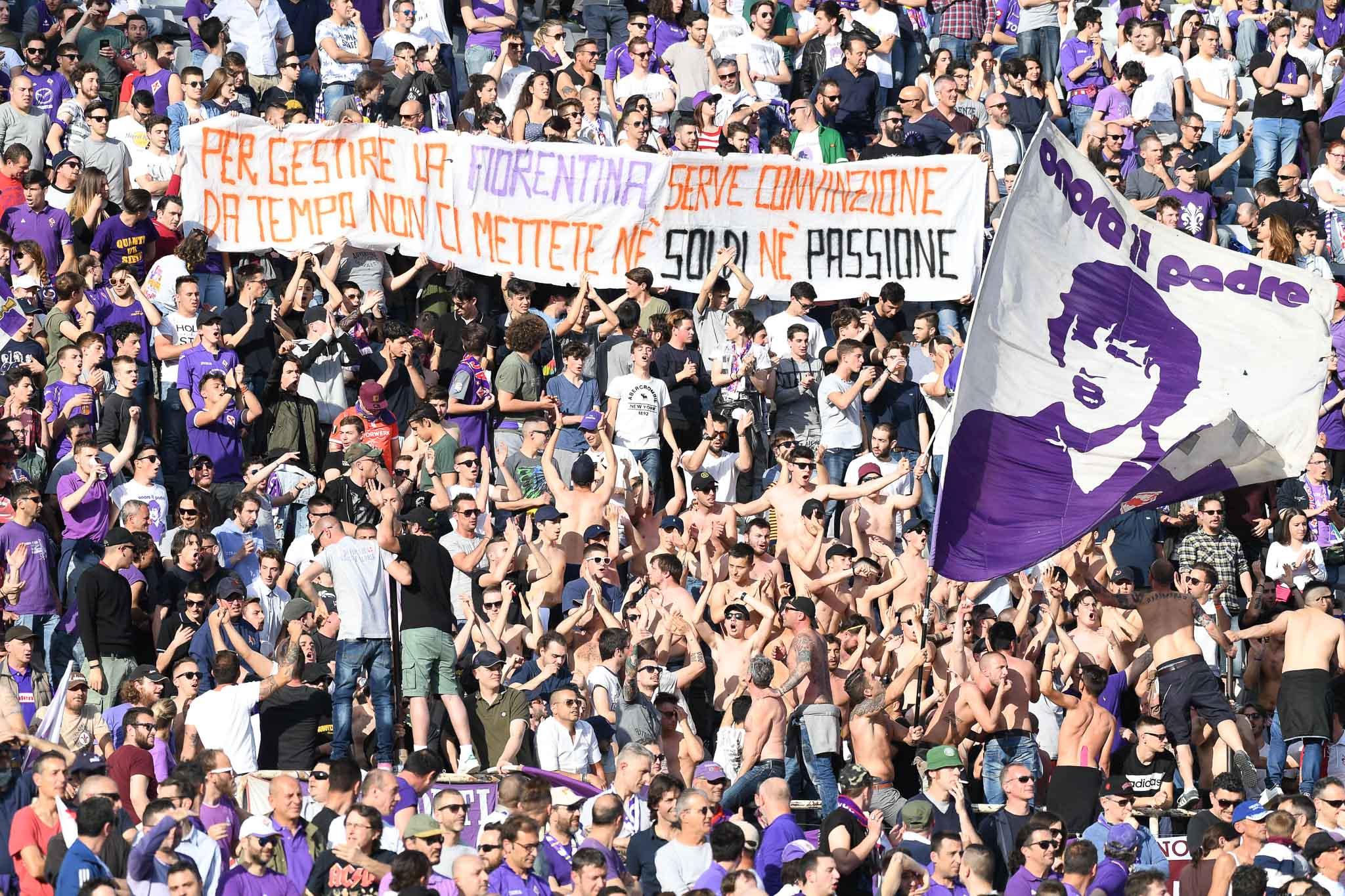 """""""Per gestire la Fiorentina serve convinzione, da tempo non ci mettete nè soldi nè passione"""" cosi la Fiesole critica i Della Valle"""