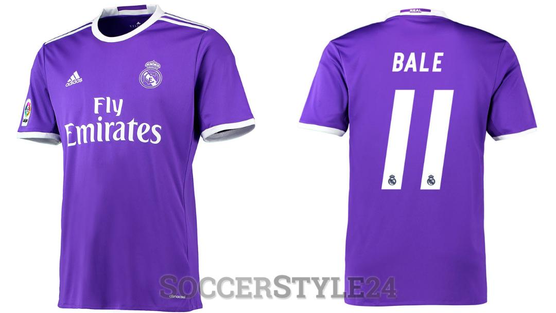 Il Real Madrid ha scelto la maglia viola per la finale di Champions contro la Juventus