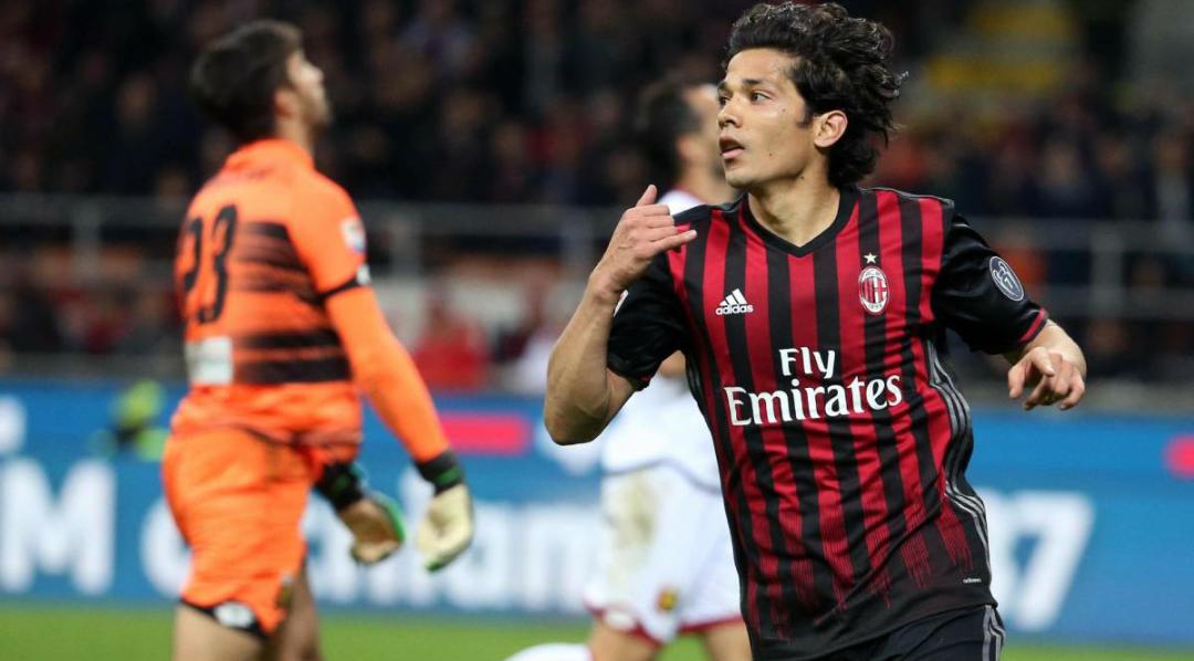 Montella vuole confermare Mati Fernandez al Milan, alla Fiorentina può arrivare 1 milioni di euro per il riscatto