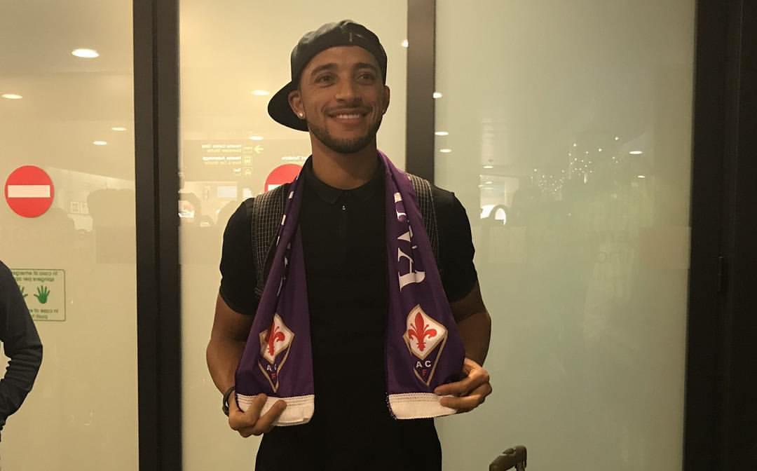 """Vitor Hugo è arrivato a Firenze: """"Sono molto felice di essere alla Fiorentina, forza viola"""""""