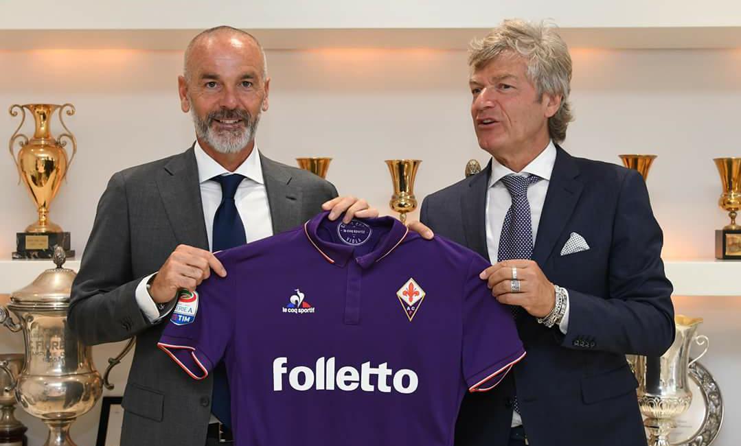 Stefano Pioli e le prime scelte da allenatore della Fiorentina che rendono orgogliosi i tifosi viola