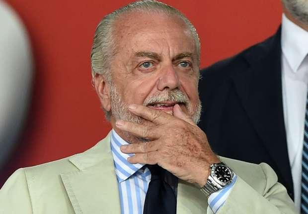 """De Laurentiis: """"A Firenze perso perchè spompati. Se Sarri vuole andare che vada, non ho digerito…"""""""