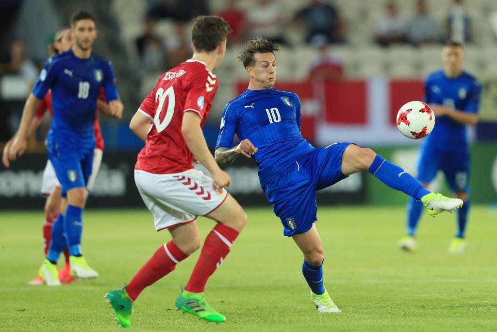 Under 21, 2-0 alla Danimarca: assist Chiesa, Bernardeschi propizia il primo goal