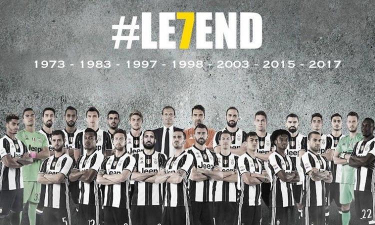Settima finale Champions persa, sul web impazza lo sfottò alla Juve: LE7END