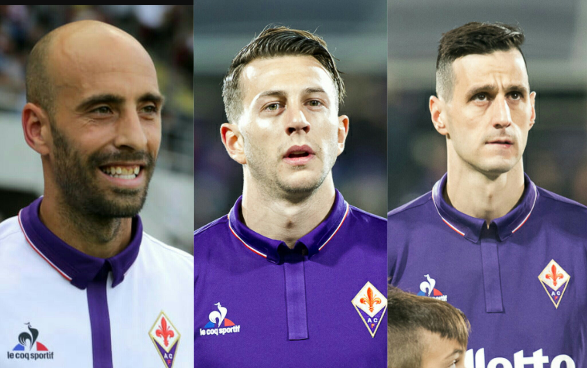 Borja, Kalinic e Bernardeschi, tre modi diversi per dire addio alla Fiorentina e salutare Firenze