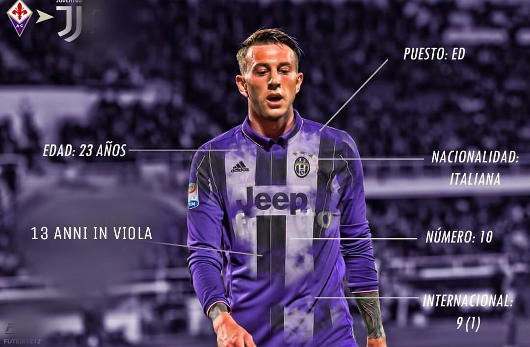 La Juventus mette a segno il colpo Bernardeschi