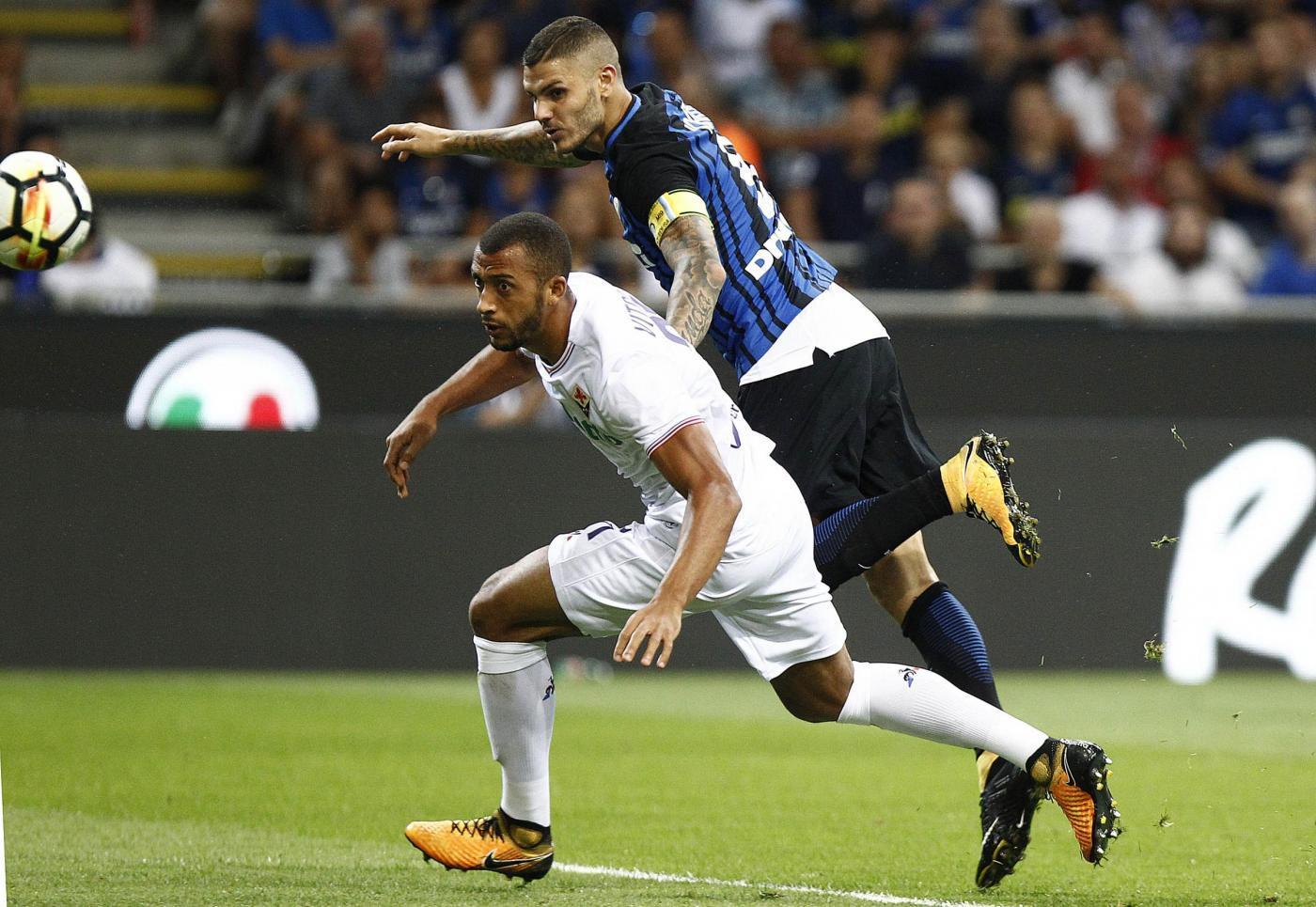 Troppi errori in difesa, pessima intesa tra Vitor Hugo e Tomovic. Cosi la Fiorentina esce sconfitta contro i neroazzurri