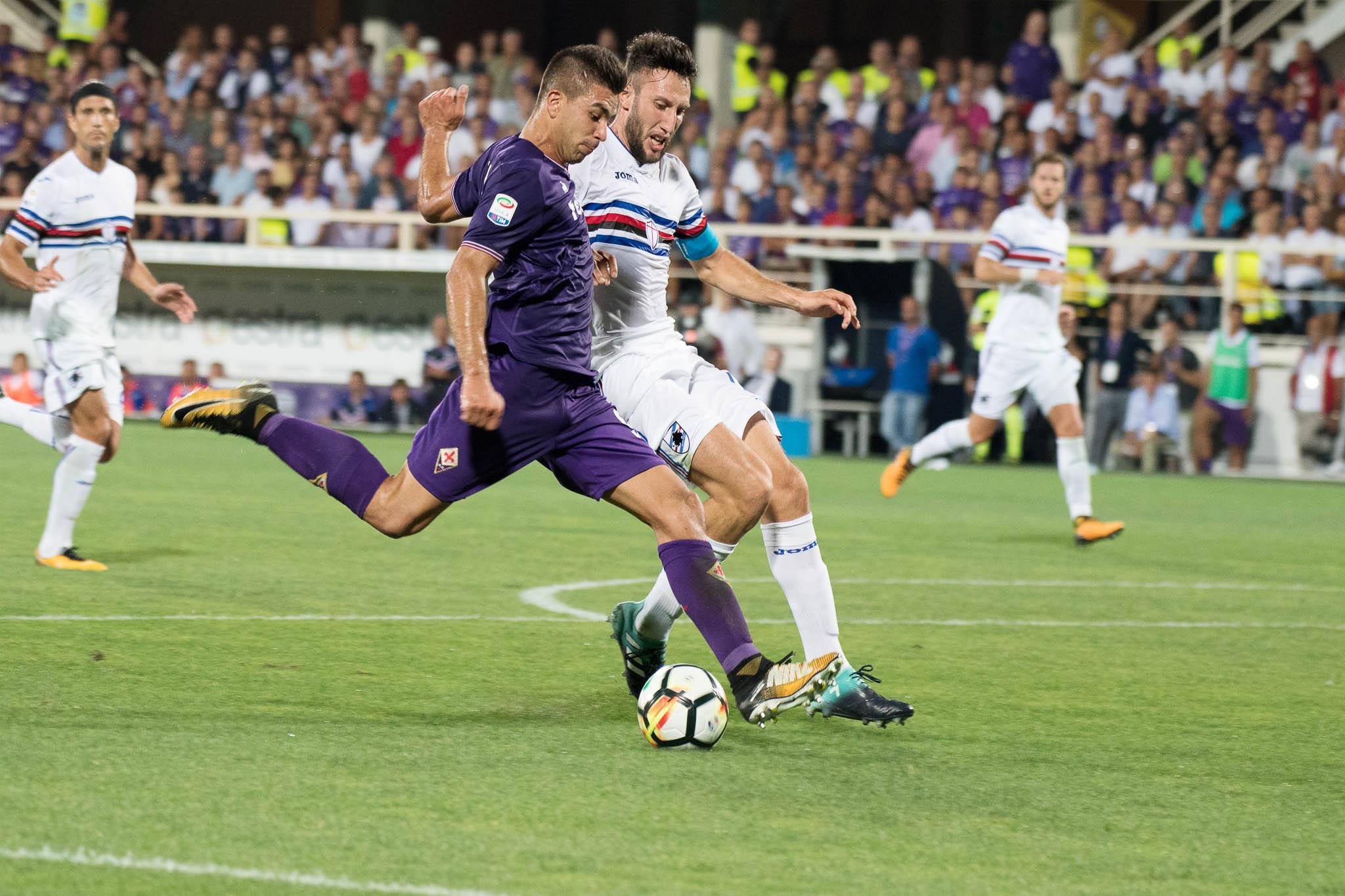 Verona-Fiorentina: Viola in vantaggio dopo 2 minuti! Primo sigillo per Simeone!
