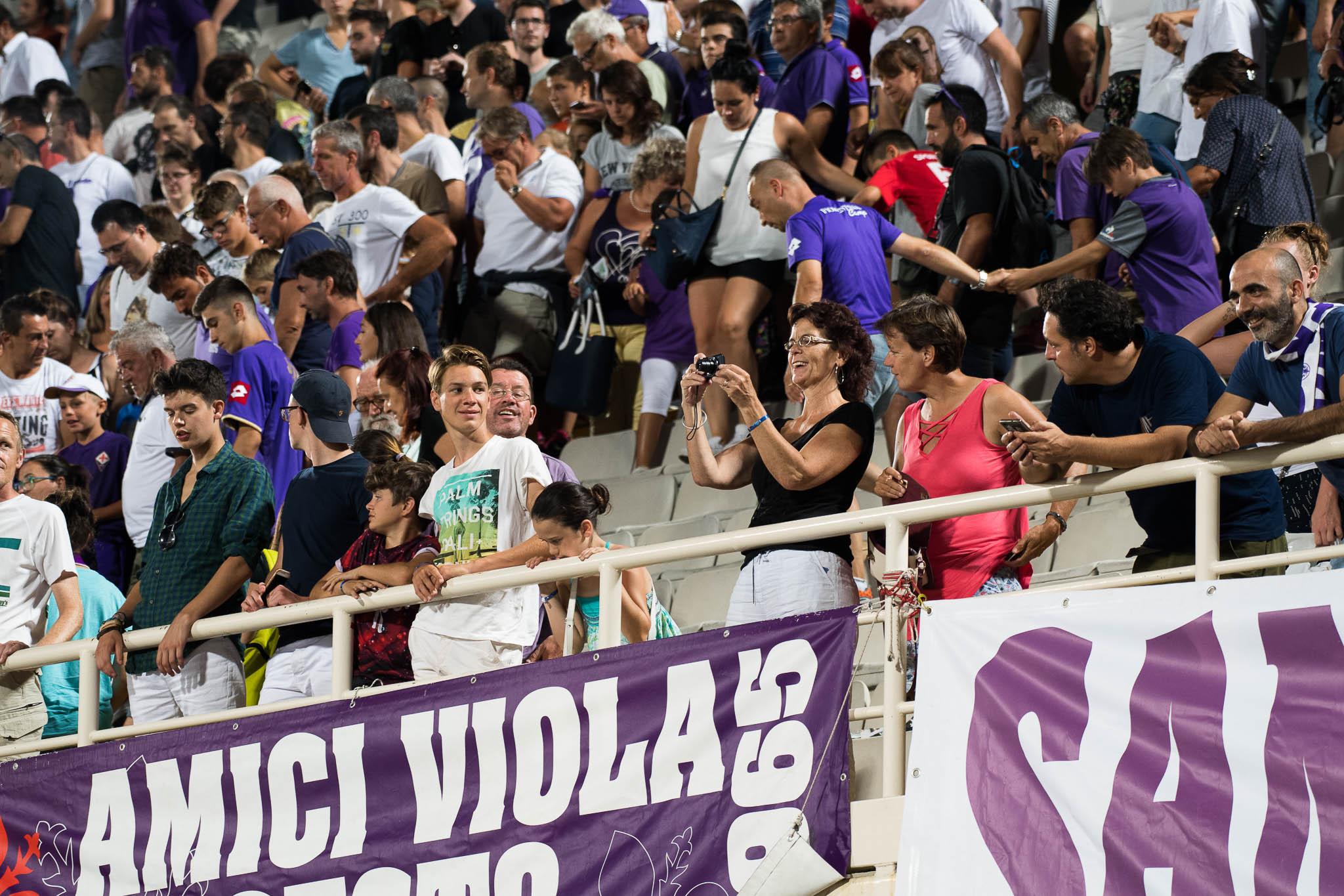 Crescono gli spettatori sui campi della serie A, unico dato negativo arriva da Firenze