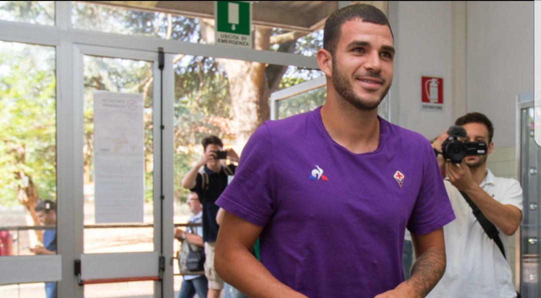 Maglia Home Fiorentina VALENTIN EYSSERIC