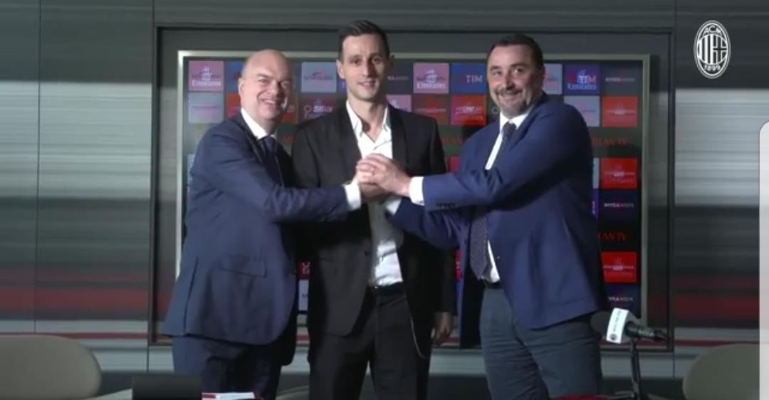 """Kalinic: """"Volevo solo il Milan da due mesi, adesso sono molto felice. Dobbiamo vincere"""""""
