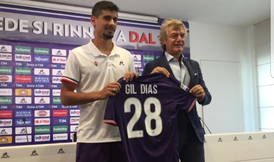 """Gil Dias: """"Grande orgoglio essere qui. Voglio portare grandi vittorie alla Fiorentina"""""""