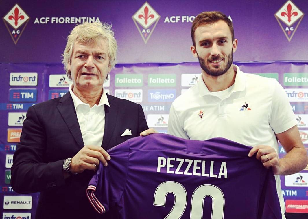 """Pezzella: """"Ho scelto la Fiorentina per il suo progetto. Stupito dalla grande organizzazione societaria"""""""