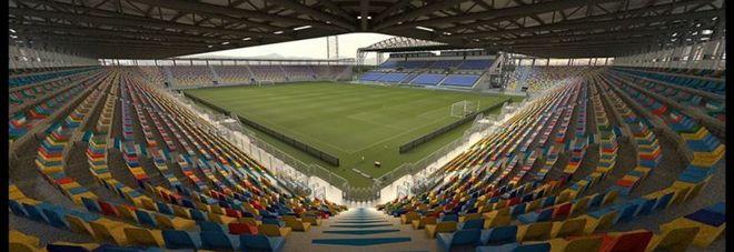Frosinone, invitata la Fiorentina per inaugurare il nuovo stadio: incasso ai terremotati