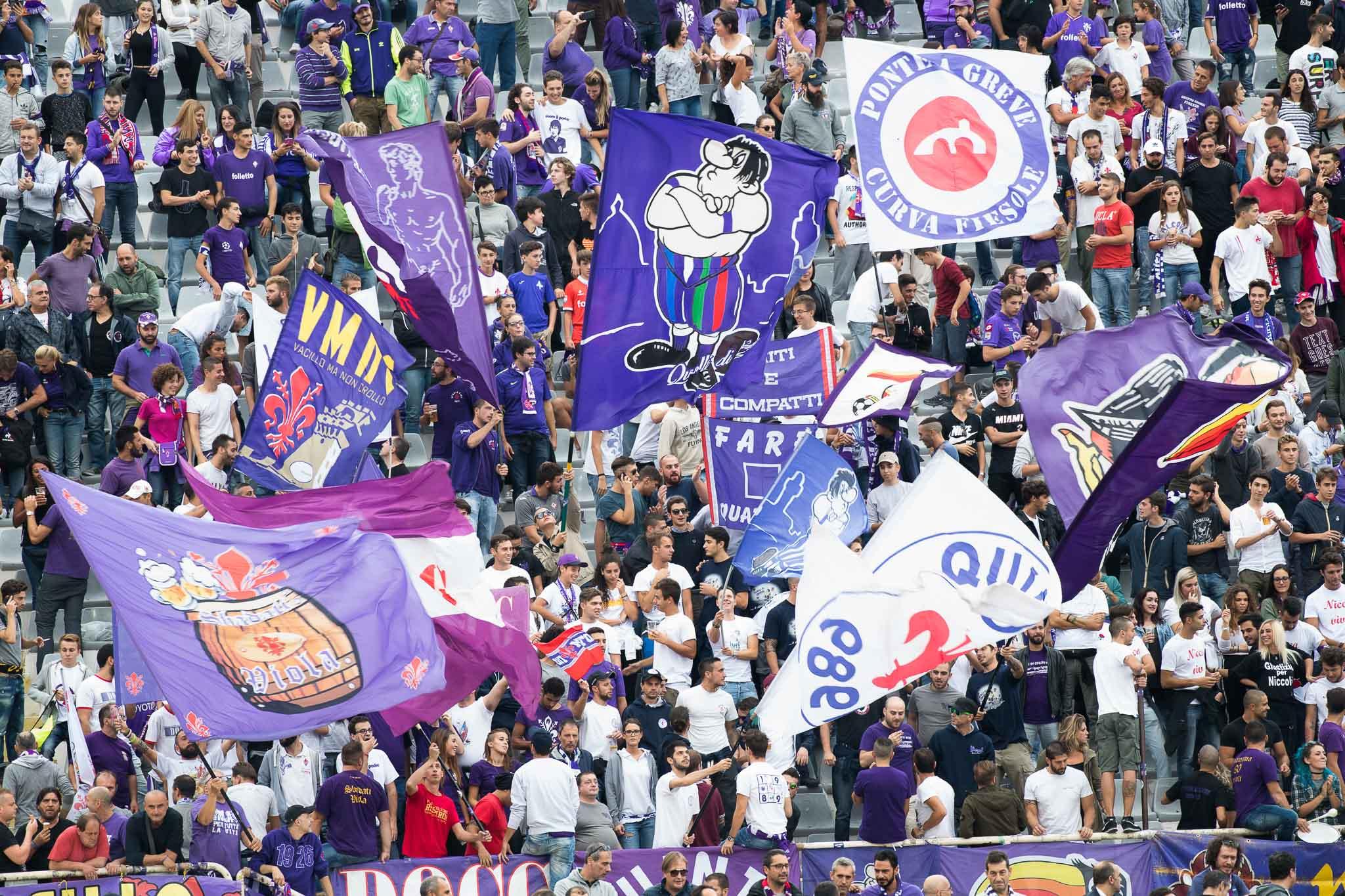 Corriere dello Sport, la carica dei 750 tifosi viola a Verona per sostenere la Fiorentina