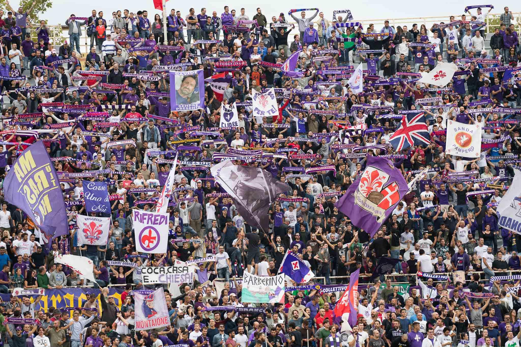 Nonostante i risultati, nonostante i 35 euro del biglietto, è maxi esodo Fiorentina a Ferrara: 1600 tifosi attesi…