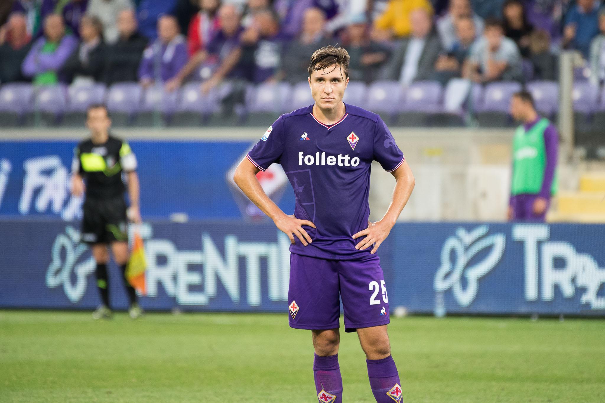 Le big italiane vogliono Chiesa per rispondere C.Ronaldo. Ma la Fiorentina…