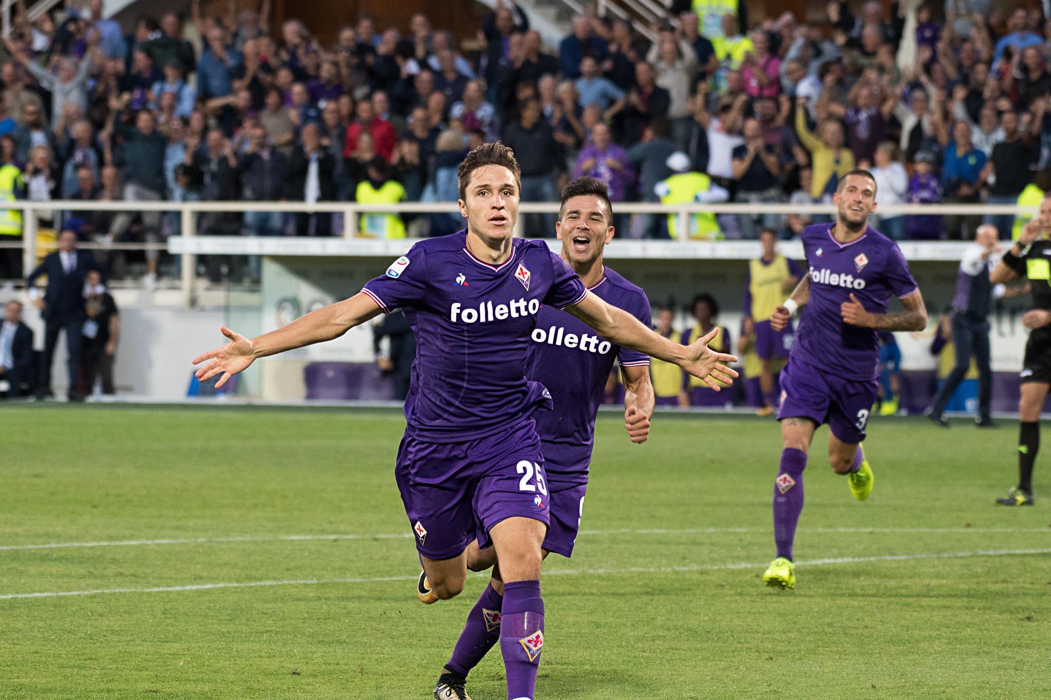Seconda Maglia Fiorentina FEDERICO CHIESA