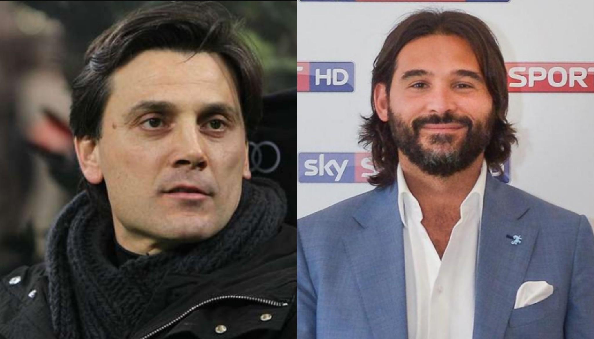 """Montella duro con Adani: """"Critichi Bonucci per la postura ma tu non eri un fenomeno e i tuoi allenatori lo sapevano"""""""