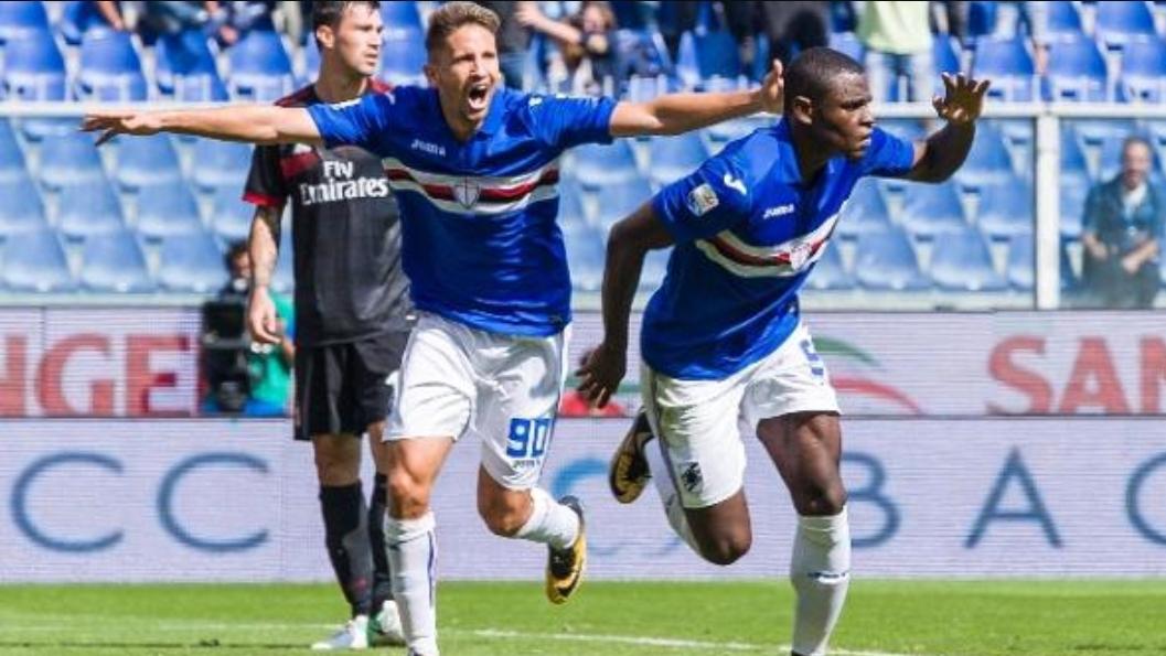 La Sampdoria di Pradè umilia il Milan di Montella e Kalinic. A Marassi è 2-0