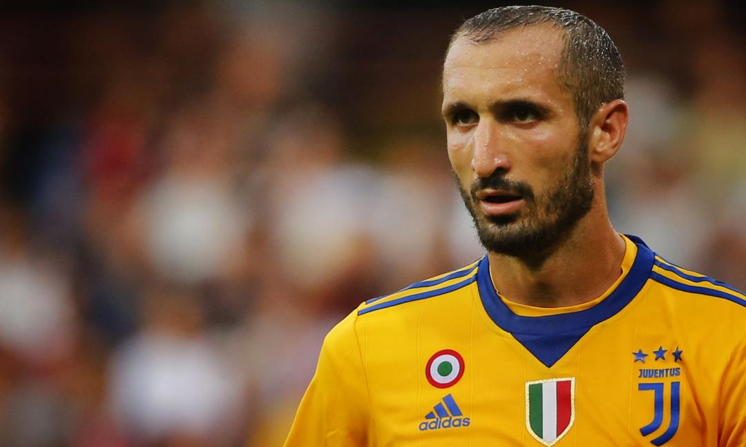La Juventus raddoppia con Chiellini, dubbi sulla posizione di Cristiano Ronaldo