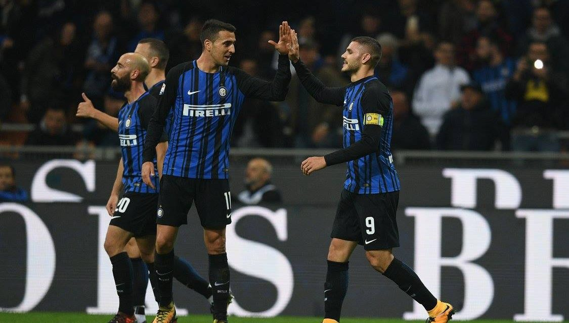 Icardi è una sentenza, l'Inter batte la Sampdoria 3-2 e vola in testa alla classifica