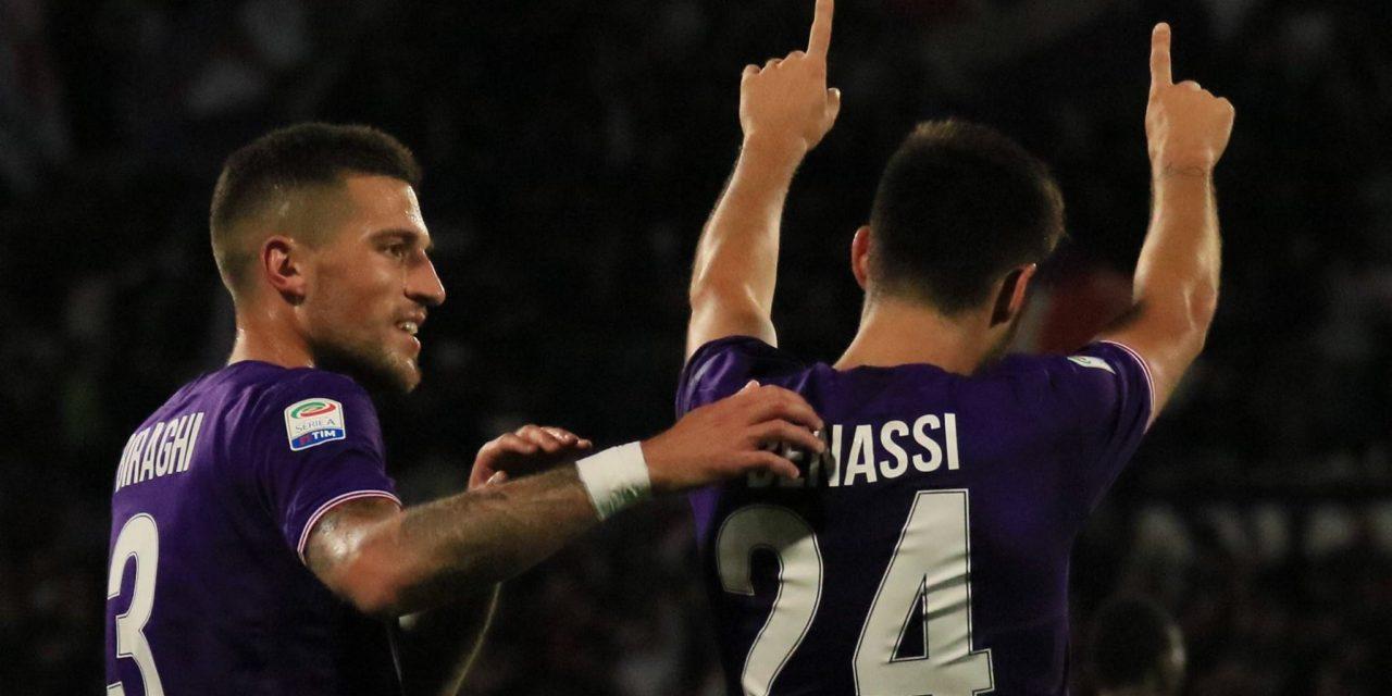 Benassi, Simeone e Babacar stendono il Torino, per i viola è la terza vittoria consecutiva