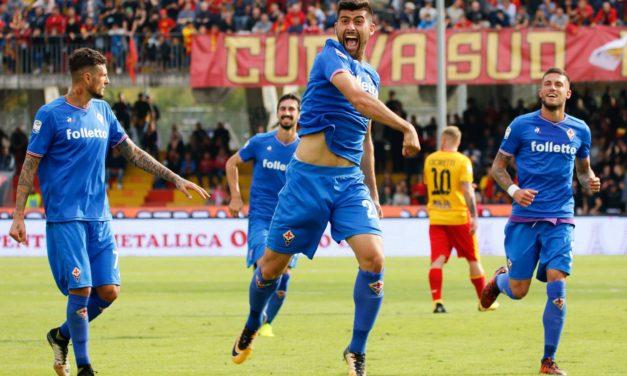 Assist di Saponara e gol di Benassi, Fiorentina avanti dopo 6′ minuti