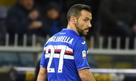 Fiorentina immobile, Quagliarella fa una tripletta. Viola affossati a Marassi