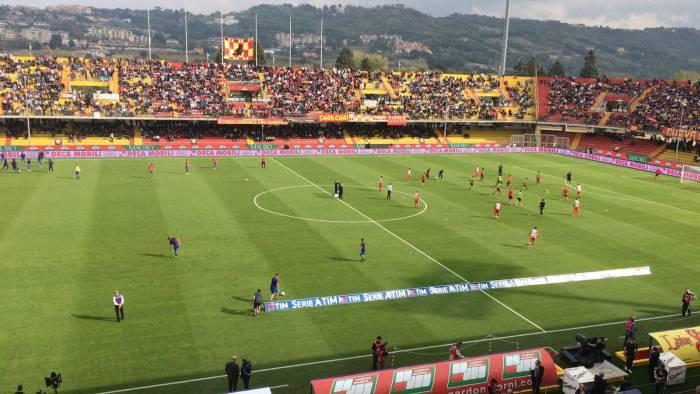 Valanga viola sul Benevento: 0-3 Fiorentina, a segno Benassi, Baba e Thereau. Europa più vicina…